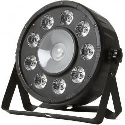 FRACTAL PAR LED 9x10 W + 1x20 W oświetlenie LED PAR