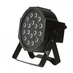 FRACTAL PAR LED 18x1 W oświetlenie LED PAR