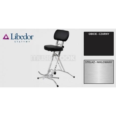 Libedor TGBN, krzesło gitarzysty, podwójna gąbka, lecznicze siedzisko