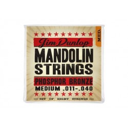 Jim Dunlop DMP 1140 Medium Phosphor Bronze Mandolin struny do mandoliny .011-.040