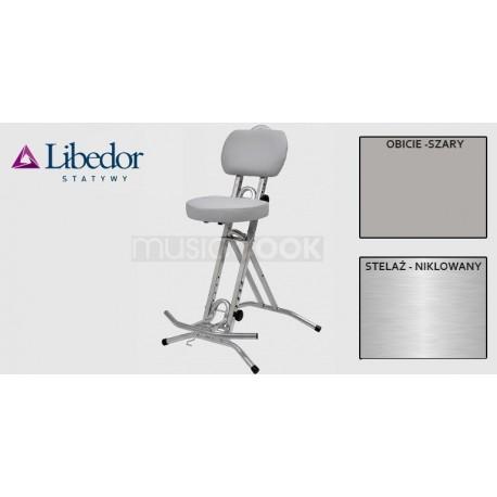 Libedor TGGN, krzesło gitarzysty, podwójna gąbka, lecznicze siedzisko