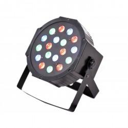 Light4me Basic Flat PAR 18x3W oświetlenie PAR LED