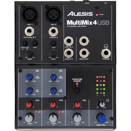 ALESIS Multimix 4 USB mikser audio analogowy
