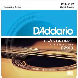 D Addario EZ 910 struny do gitary akustycznej 11-52