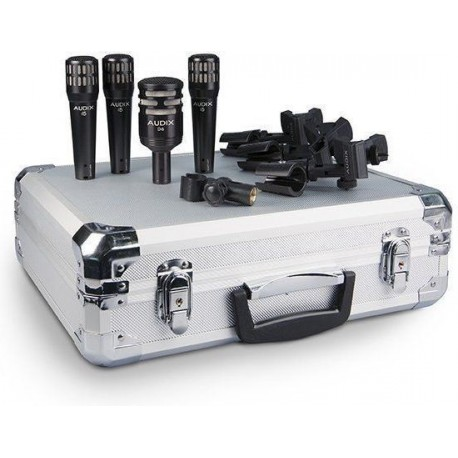 Audix DP-4 zestaw mikrofonów perkusyjnych