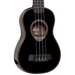 LAG U100S BLK ukulele