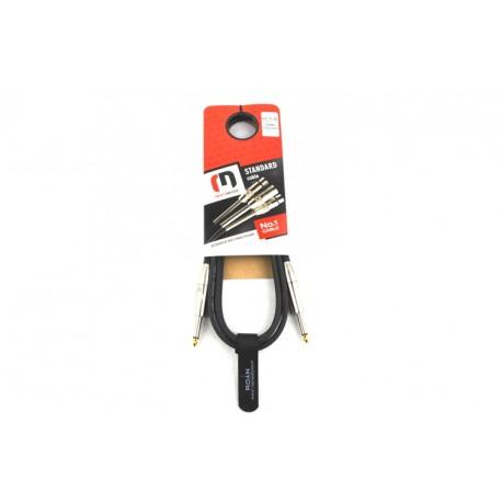Red's GC 1130 - kabel instrumentalny STANDARD długość 3,0m Jack prosty 6,3 mm / Jack prosty  6,3 mm