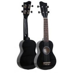 Ever Play UK21  ukulele sopranowe, czarny połysk