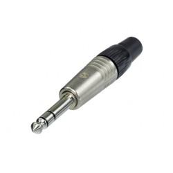 Neutrik NP3C złącze kablowe Jack 6,3 mm stereo (TRS)