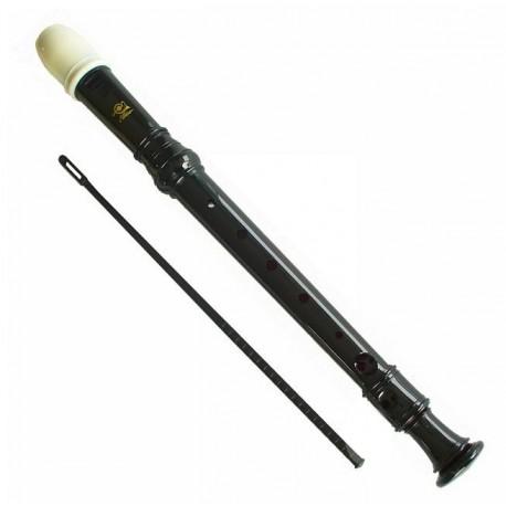 ELLISE DSR-200 flet prosty sopranowy szkolny czarny