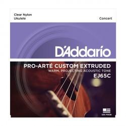 D'Addario Pro-Arte Custom Extruded EJ65C - Struny do ukulele koncertowego