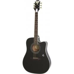 Epiphone PRO-1 Ultra Ebony EB Gitara elektroakustyczna
