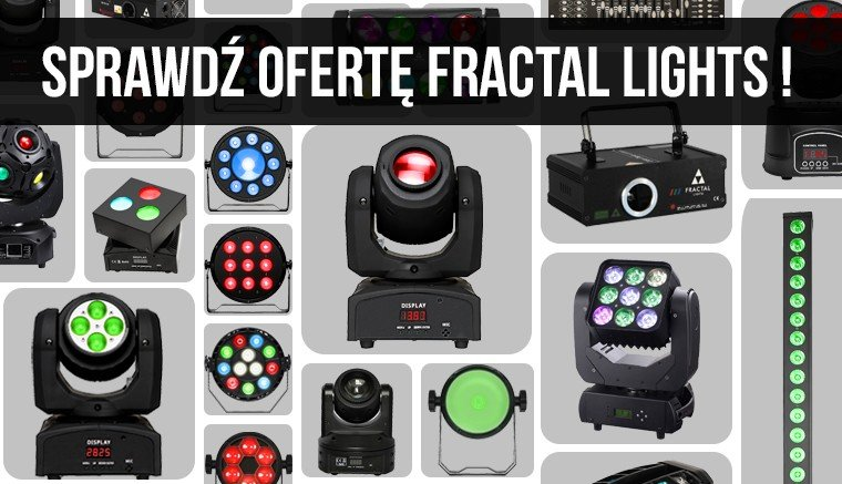 Fractal Lights - oświetlenie