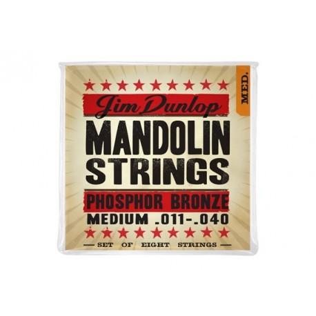 Jim Dunlop DMP 1140 Medium Phosphor Bronze Mandolin struny do mandoliny .011-.040