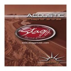 Stagg AC 1254 PH - struny do gitary akustycznej