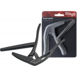 Stagg SCPX-FL BK - kapodaster do gitary klasycznej