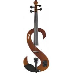 Stagg EVN 4/4 VBR - skrzypce elektryczne 4/4