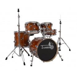 Tamburo FORMULA22LBR - akustyczny zestaw perkusyjny