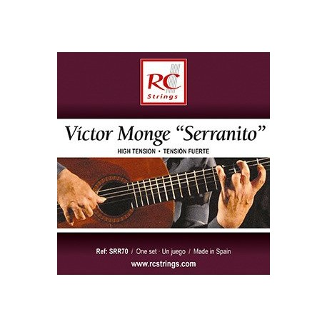 "Royal Classics SRR70 Víctor Monge ""Serranito"" - Struny do gitary klasycznej"