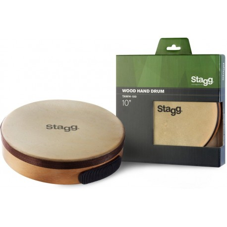 Stagg TAWH-100 - tamburyn drewniany z membraną