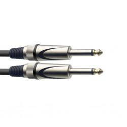 Stagg SGC6DL - kątowy kabel instrumentalny 6m