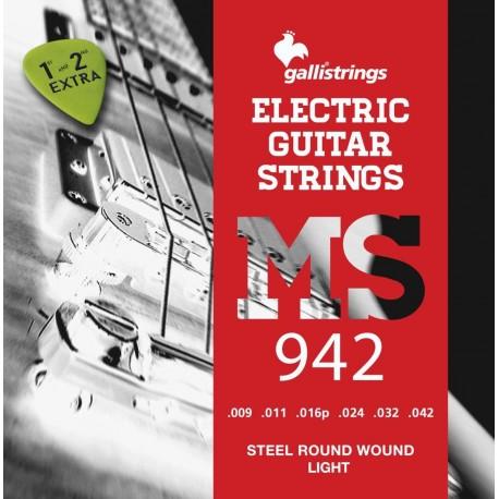 Galli MS942 Light - struny do gitary elektrycznej