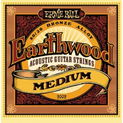 Struny Ernie Ball Earthwood Medium Accoustic 80/20 Bronze 13-56 (2002)