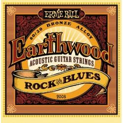Struny Ernie Ball Earthwood Rock & Blues Acoustic 80/20 Bronze 10-52 (2008)