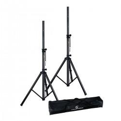 Soundsation SPST-SET80 BK - zestaw statywów kolumnowych