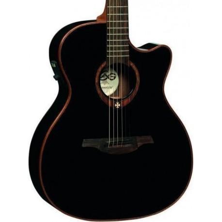 LAG T100ACE BLK gitara elektro-akustyczna