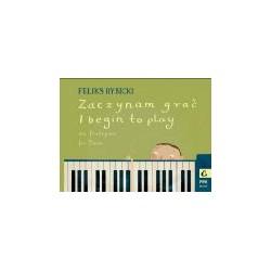 Zaczynam grać na fortepian, op. 20 - nuty dla dzieci - Rybicki