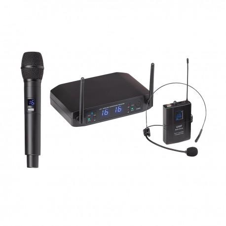 Soundsation WF-U216HP - system bezprzewodowy UHF 520-550MHz