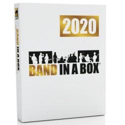 PG Music Band-in-a-Box MegaPAK 2020 PL dla Windows BOX