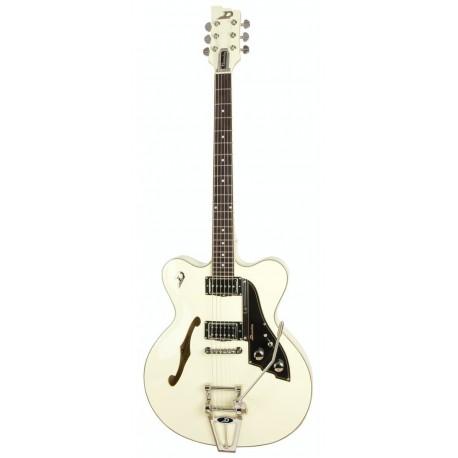 Duesenberg Fullerton CC Hollow Vintage White All Over - gitara elektryczna