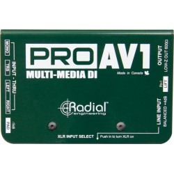 RADIAL ProAV1 Di-box pasywny
