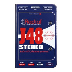RADIAL J48 Stereo Di-box aktywny
