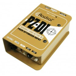 Radial PZ-DI Piezo Orchestral Instrument Direct Box - di-box aktywny