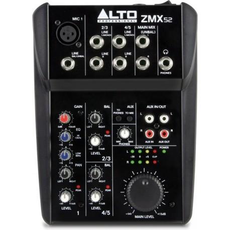 Alto Professional ZMX52 mikser audio analogowy