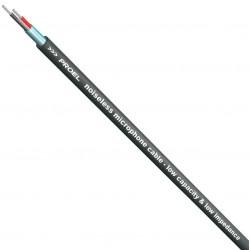 PROEL HPC 90 BK kabel mikrofonowy instalacyjny 2x0,22, czarny