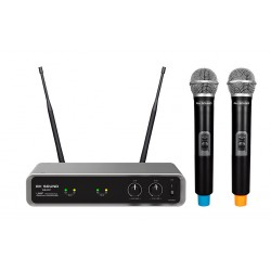 RH Sound WR-207 zestaw dwóch mikrofonów bezprzewodowych