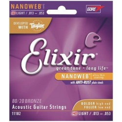 Elixir 11182 HD Light Anti-Rust (13-53) NW