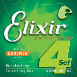 Elixir 14077 NanoWeb Medium 45-105