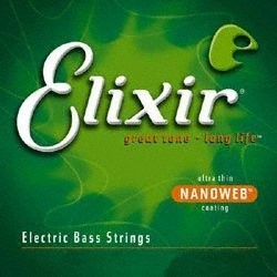 Elixir 14502 NanoWeb Acoustic Bass Light 45-100