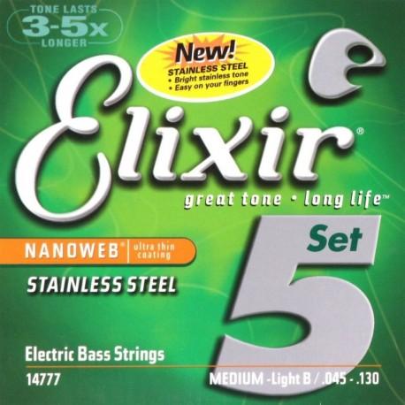 Elixir 14777 NanoWeb Stainless Steel 45-130