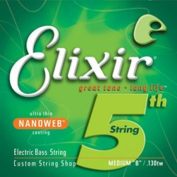 Elixir 15433 NanoWeb struna 5 Medium XL 130TW