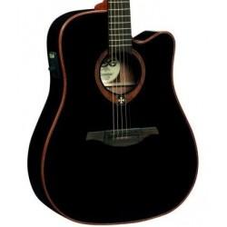 LAG T100DCE BLK gitara elektro-akustyczna