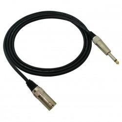 Red's MC 1330 - kabel mikrofonowy STANDARD 3m XLR męski/Jack 6,3 mm mono
