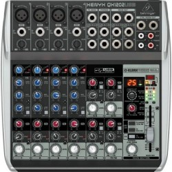 Behringer QX1202USB mikser analogowy