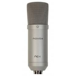 NOVOX NC - 1 mikrofon pojemnościowy USB silver