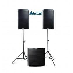 Zestaw nagłośnieniowy ALTO 2+1: 2 x TS 212 + 1 x TS 215s
